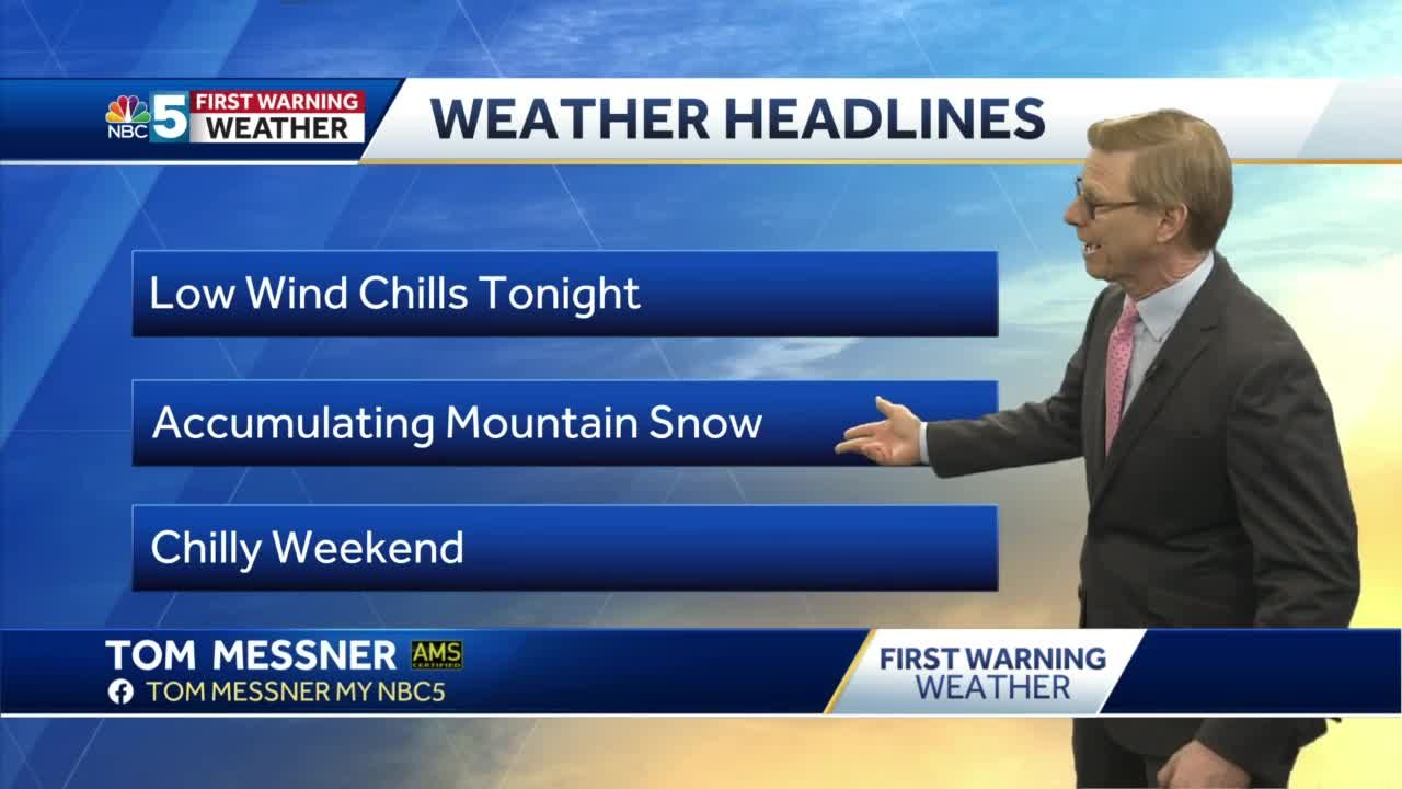 Video: Tom Messner says we'll be cold for days. 3.4.21