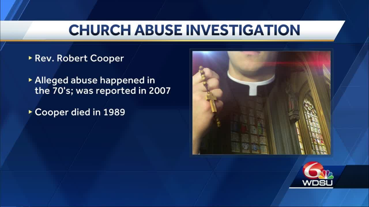 Deceased priest added to abuse list, 2 more being investigated, according to Archdiocese of New Orleans
