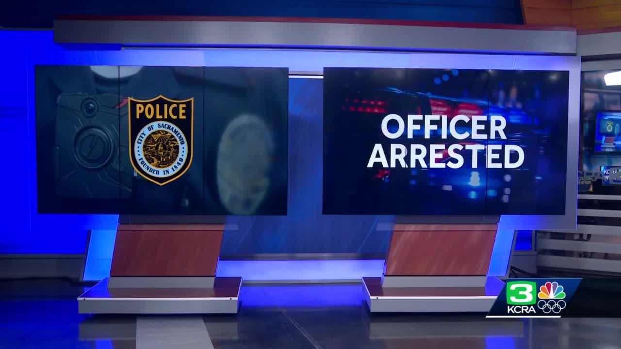 Officer arrested after filing false police report, Sacramento PD says