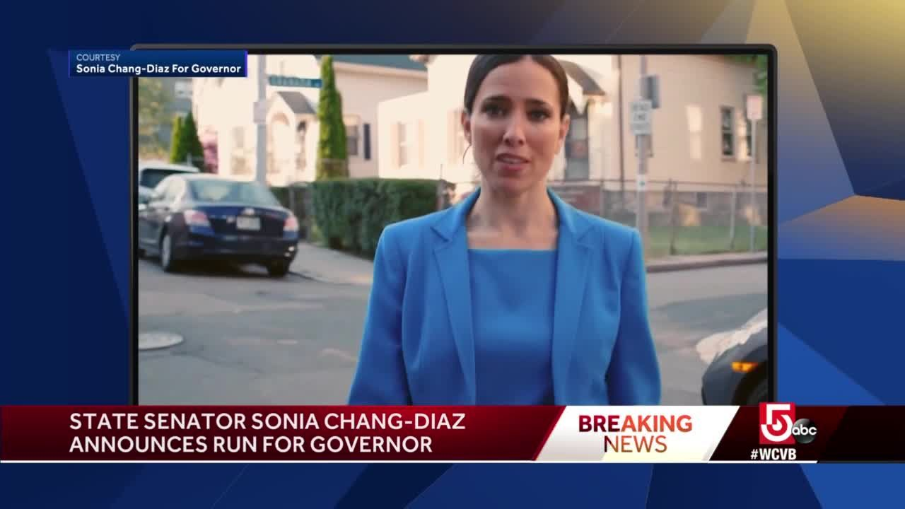Democrat State Sen. Sonia Chang-Diaz running for governor