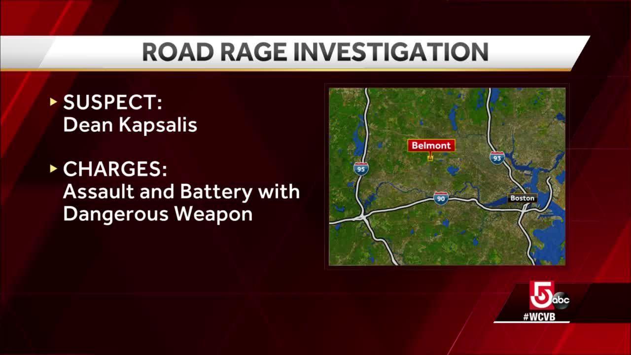 Man dies in apparent road rage case in Belmont