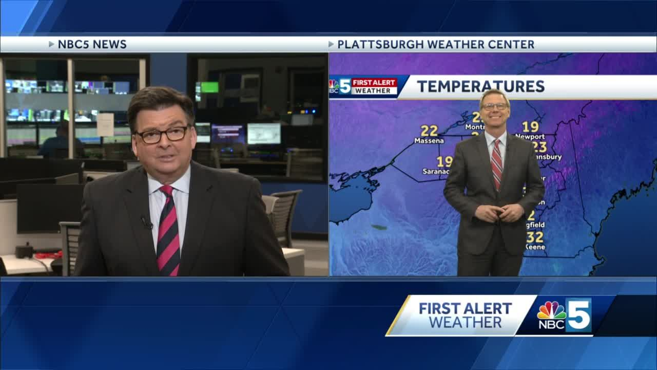 Video: Tom Messner says we'll see a little snow Wednesday. 11.24.20