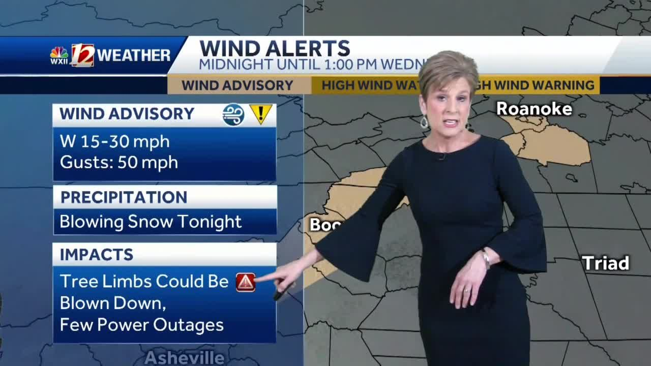 WATCH: Gusty winds, colder air returns