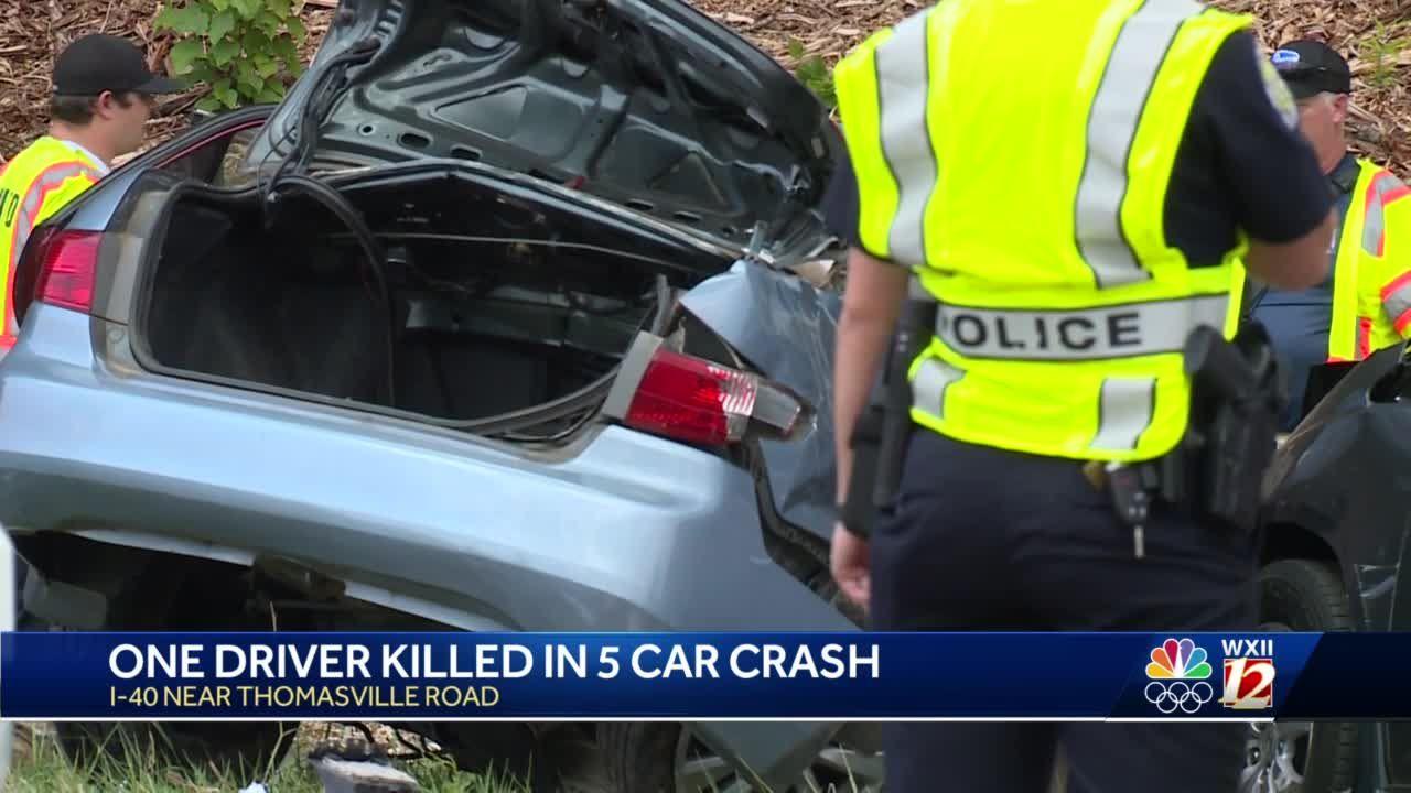 Winston-Salem: Deadly crash involving multiple vehicles shuts down part of I-40