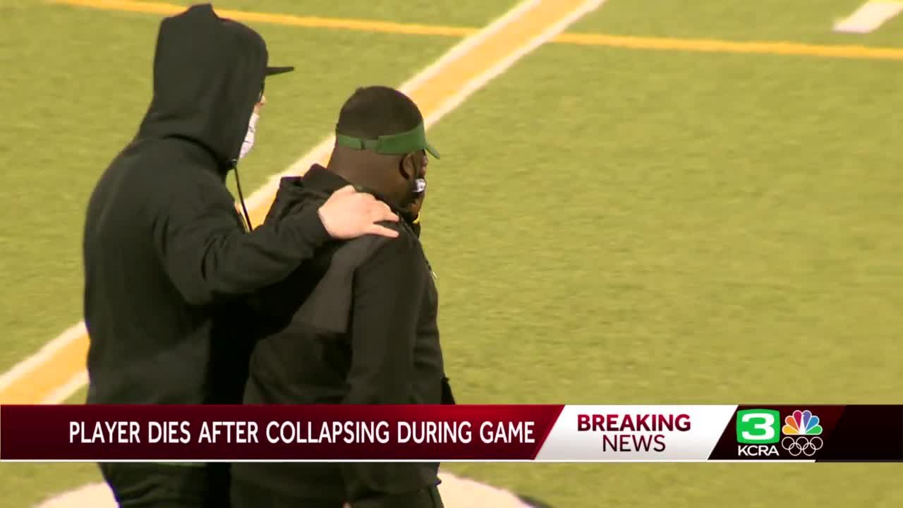 Player who collapsed at Sac high school football game dies, district says