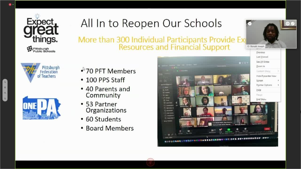 Pittsburgh Public Schools Provides Update On District S Reopening Plans