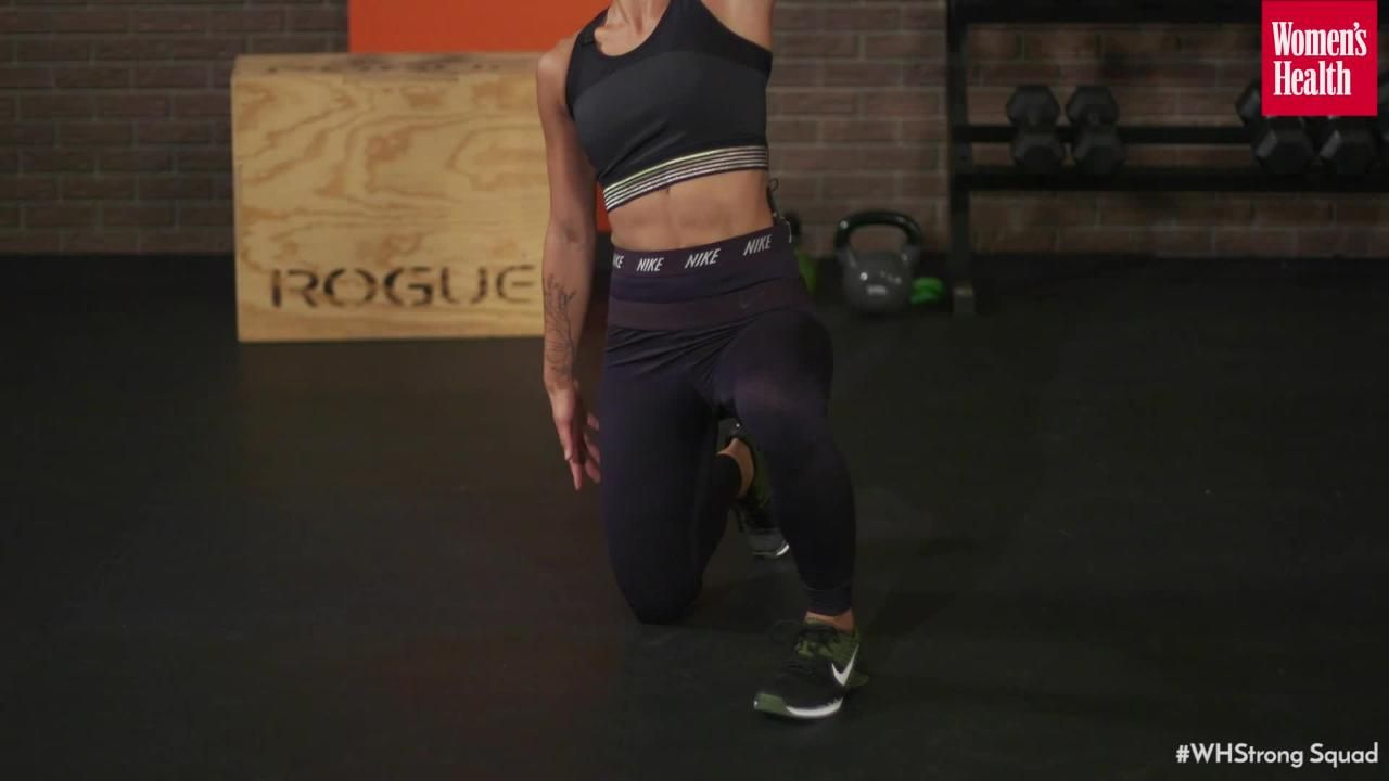 We Just Broke Down This Insanely-Hard Kettlebell Move Into Totally Doable Steps