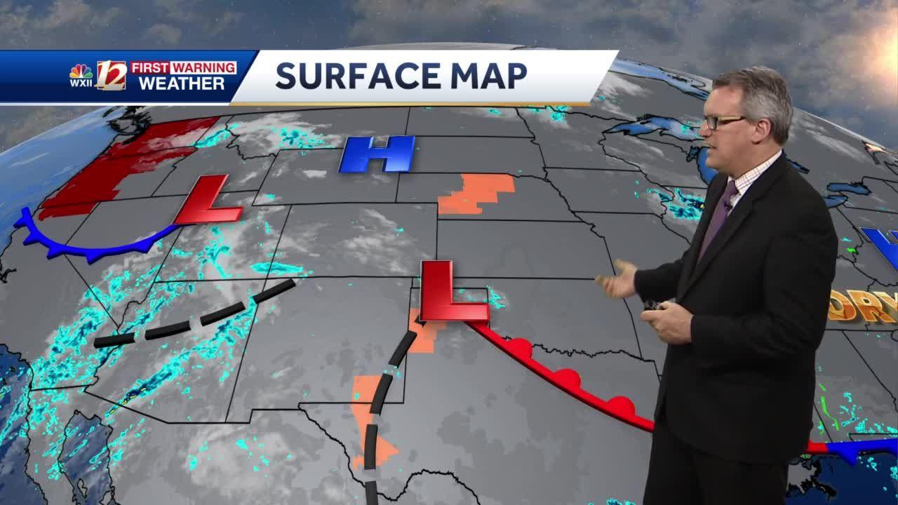 WATCH: Drier sunshine this week