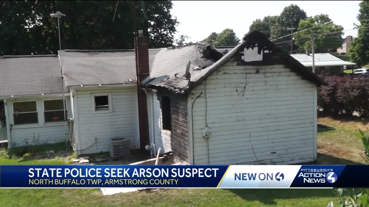 Police search for man charged with setting a home on fire in Armstrong County