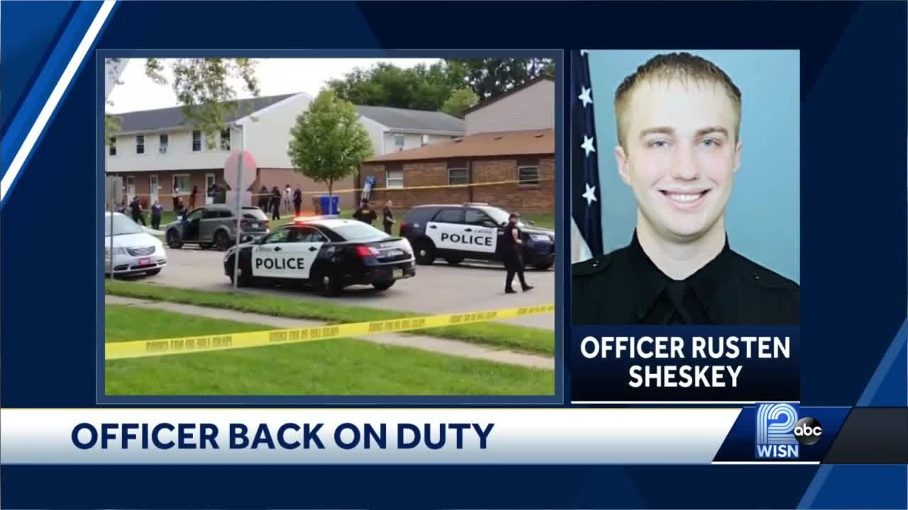 Officer who shot Jacob Blake returns to duty