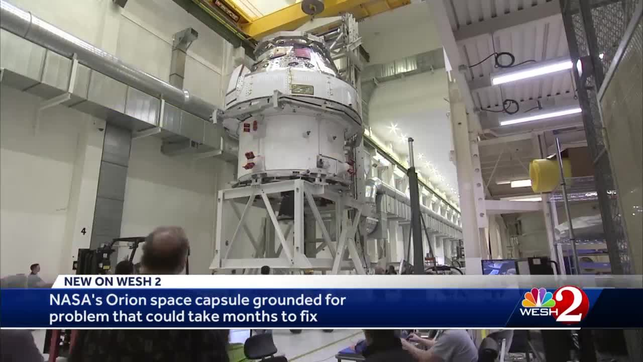 Issues with Orion spacecraft could delay NASA 2024 moon plan
