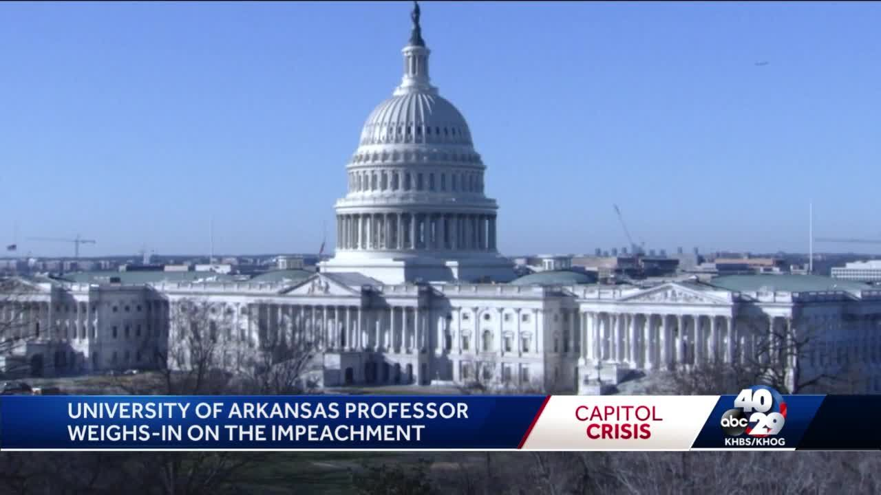 U of A professor: Biggest question people have is why impeach the president in final days?