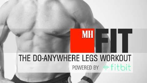Build Strong, Athletic Legs with Nothing More Than Your Body and a Chair