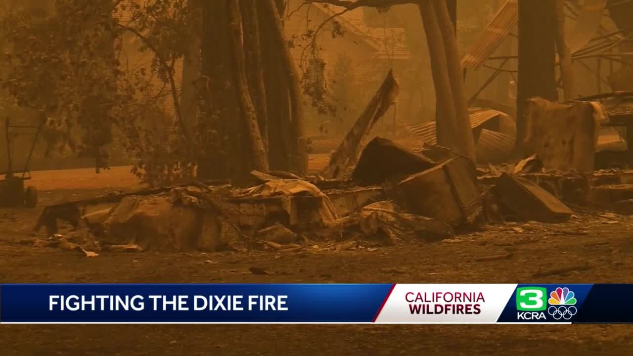 Dixie Fire: More evacuations issued in Plumas County