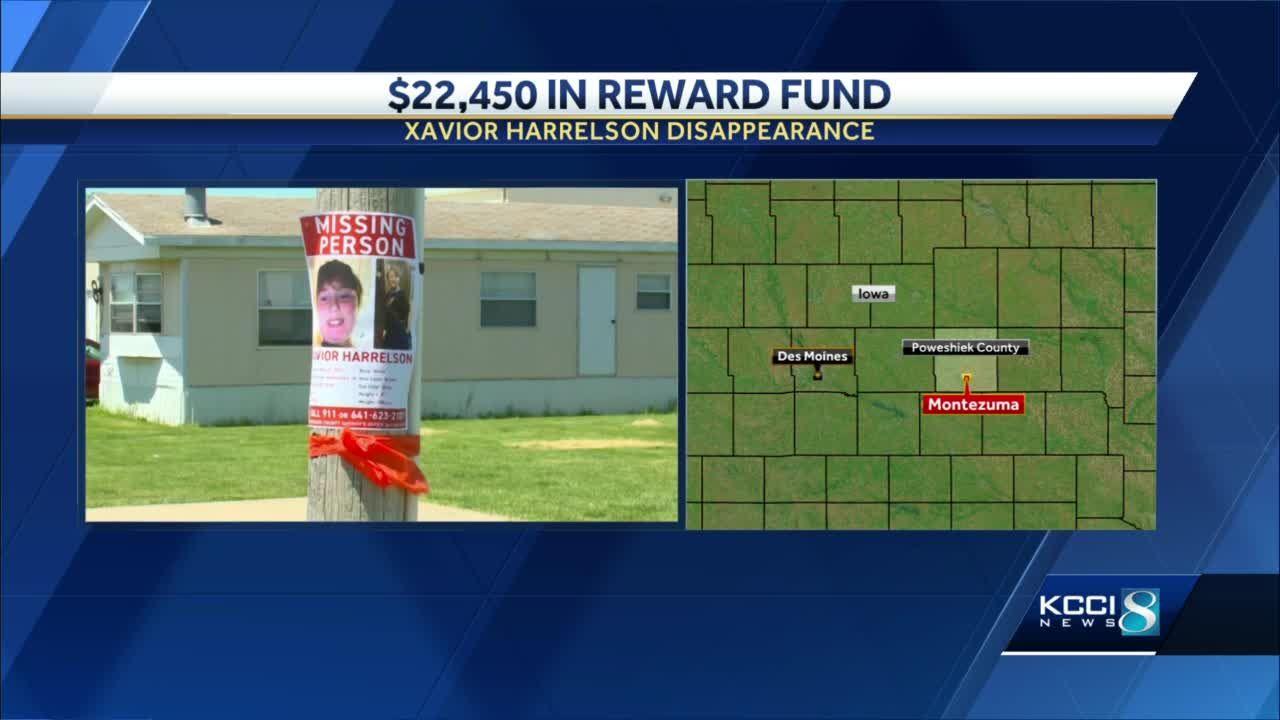 Xavior Harrelson reward fund surpasses $22,000