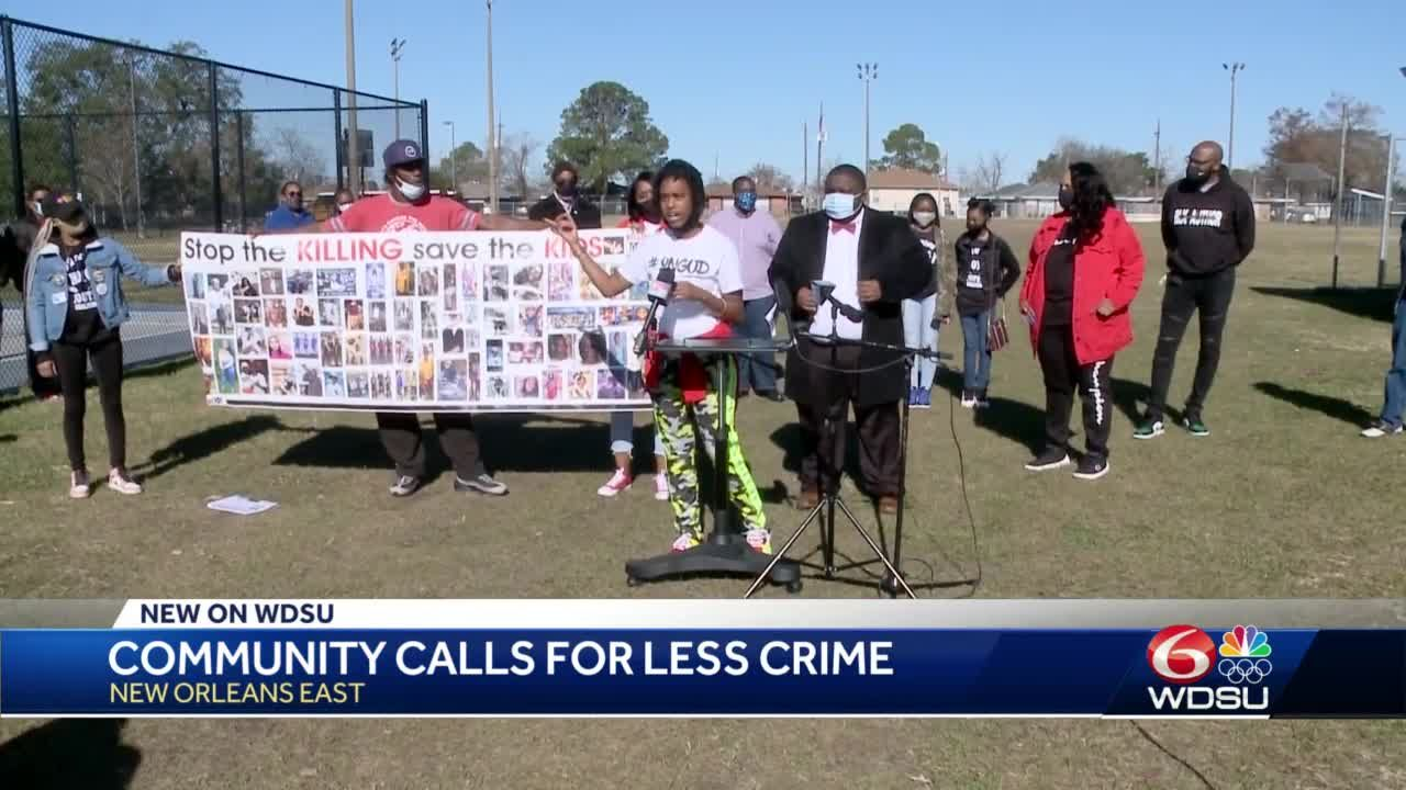 New Orleans East community leaders come together in call for peace