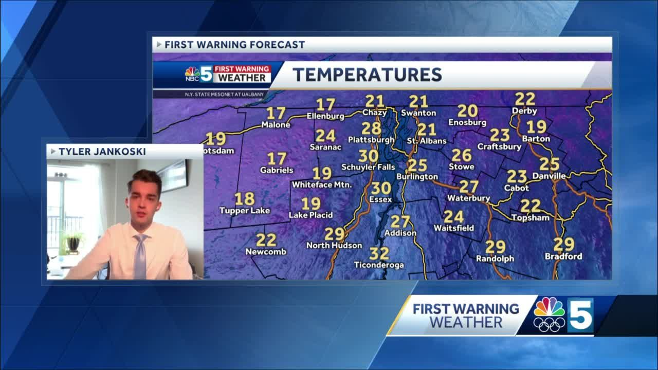 Video: More snow showers to come (1-18-21)