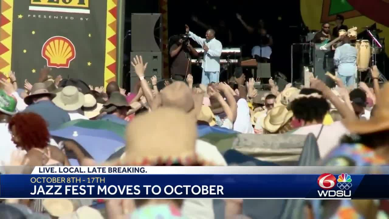 Jazz Fest officially moves to Fall 2021