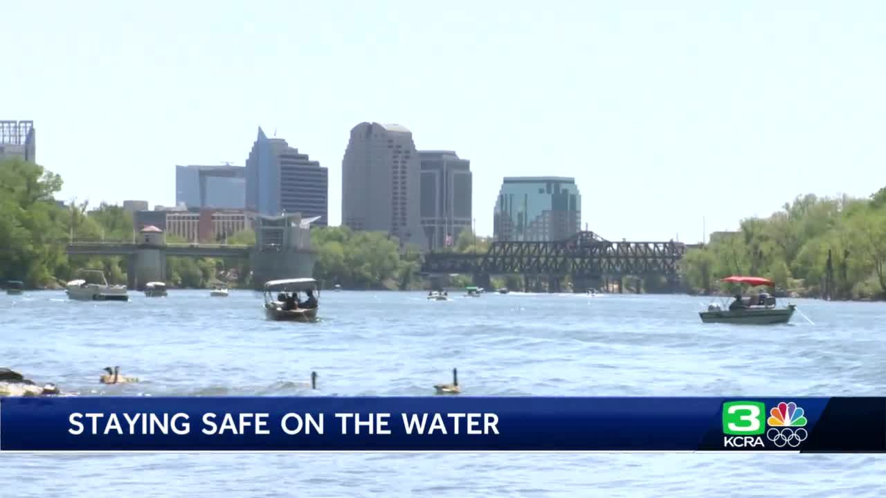 Here's how to stay safe on the water as weather warms up in Sacramento