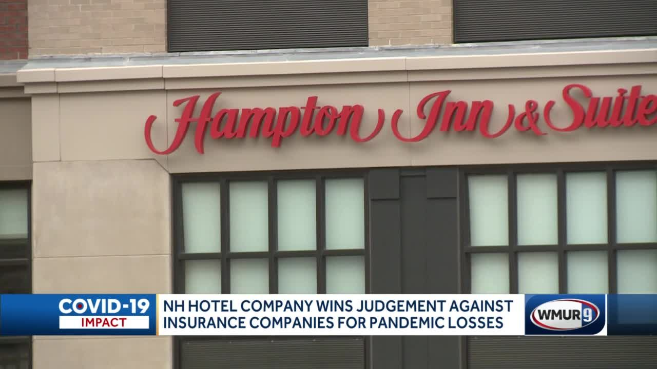 NH hotel company wins judgment against insurance companies for pandemic losses