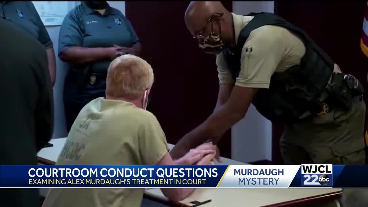 Ethics questions raised after Alex Murdaugh court hearing in familiar Hampton County