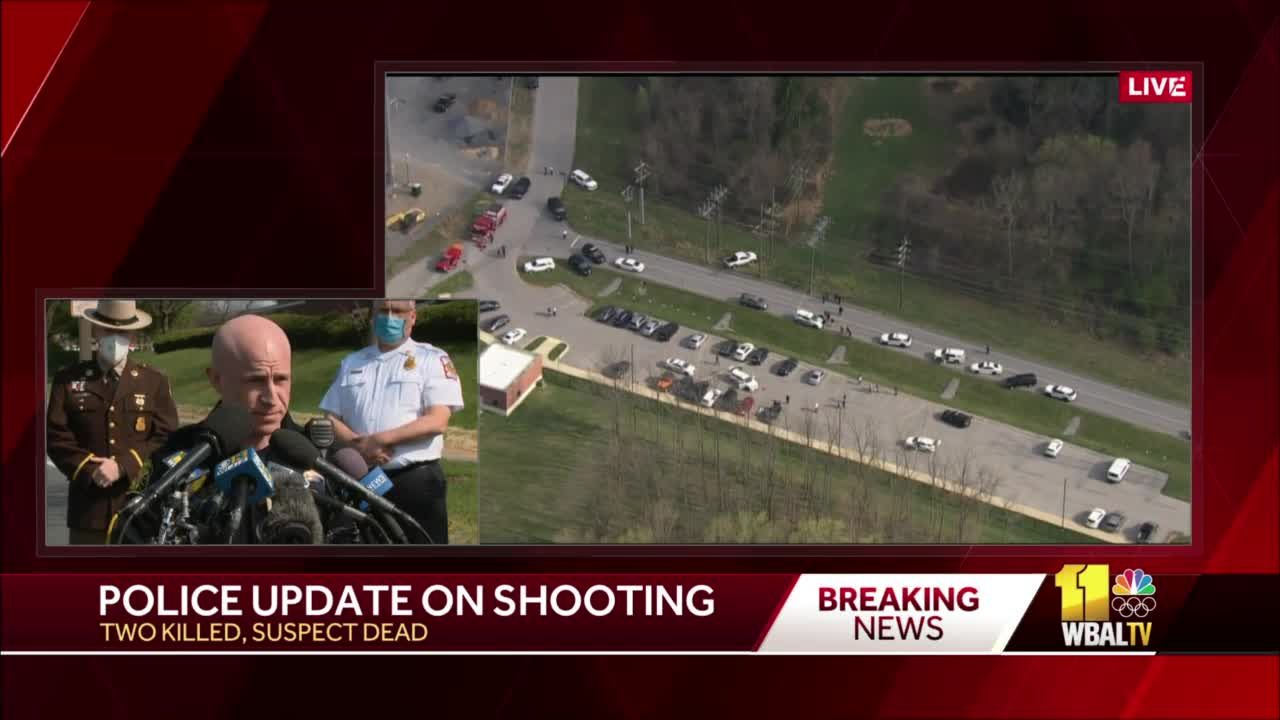 Police: Suspect dead, 2 injured in Frederick shooting