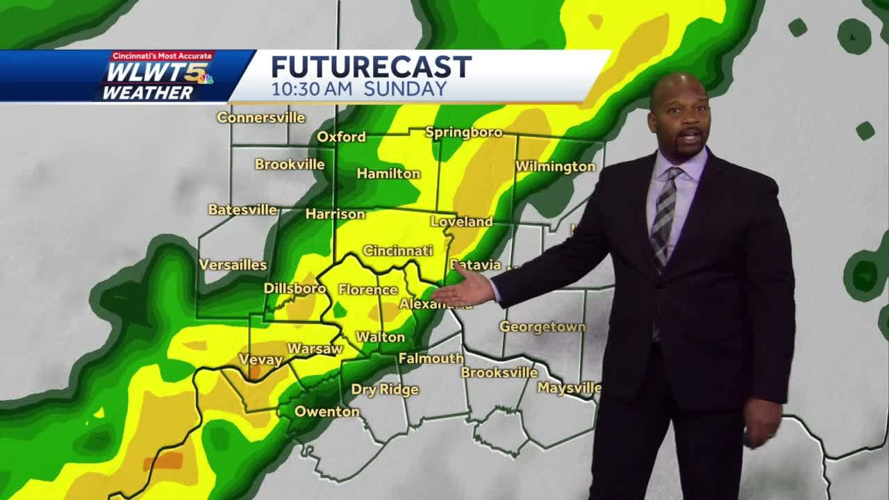 More Rain For Mother's Day
