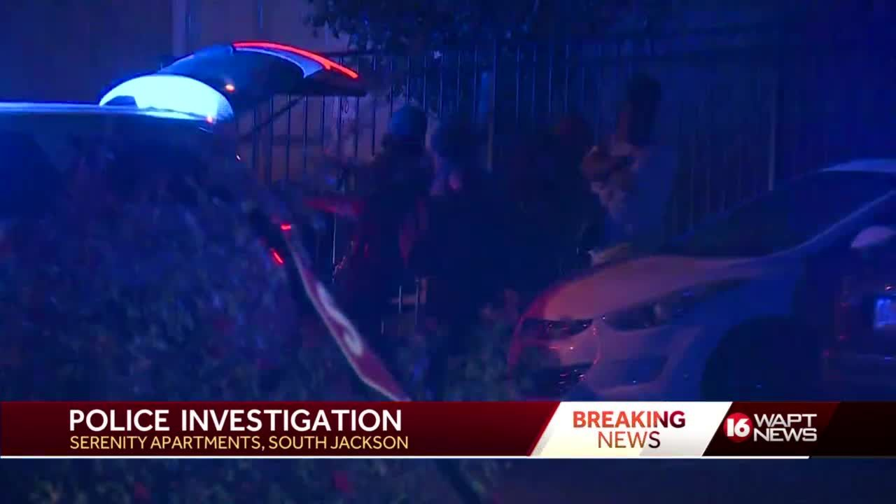 Police presence at Jackson apartment complex