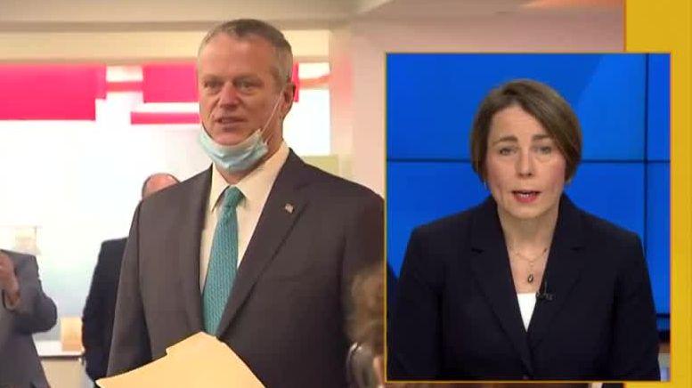 OTR: AG Maura Healey says Gov. Baker deserves credit for 'making corrections' in rollout