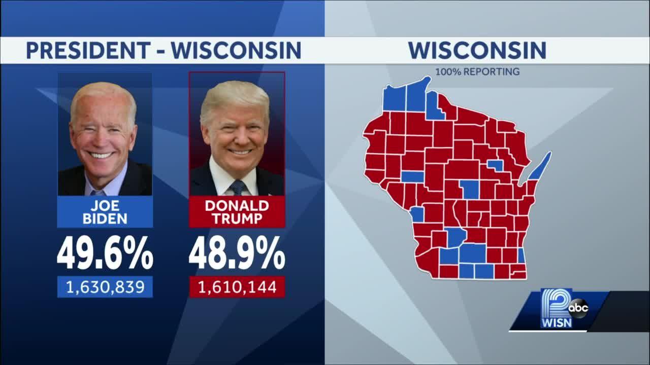 Biden nets 87 votes in Wisconsin recount