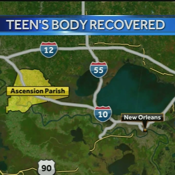 Authorities recover body of teen after drowning in Ascension