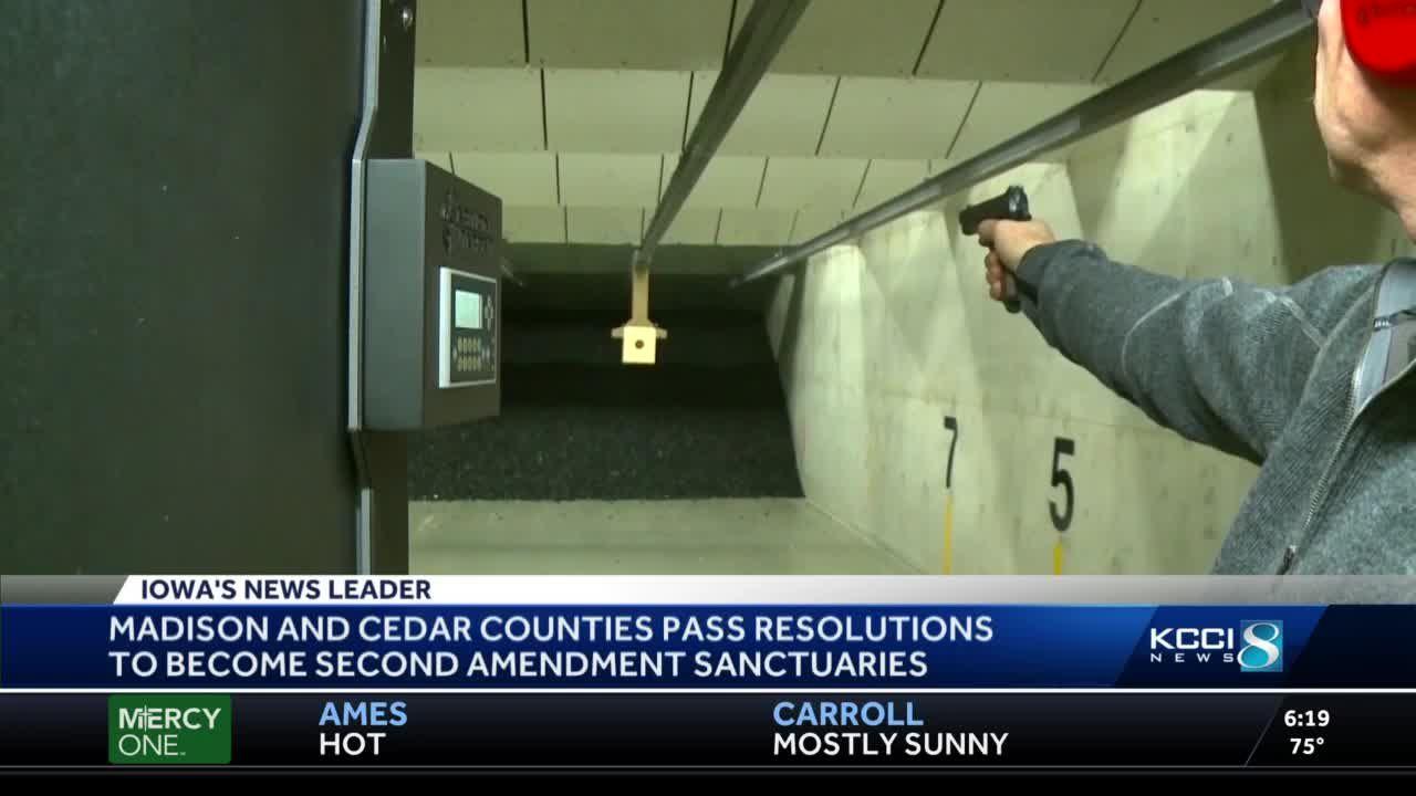 Four Iowa counties are now Second Amendment sanctuaries