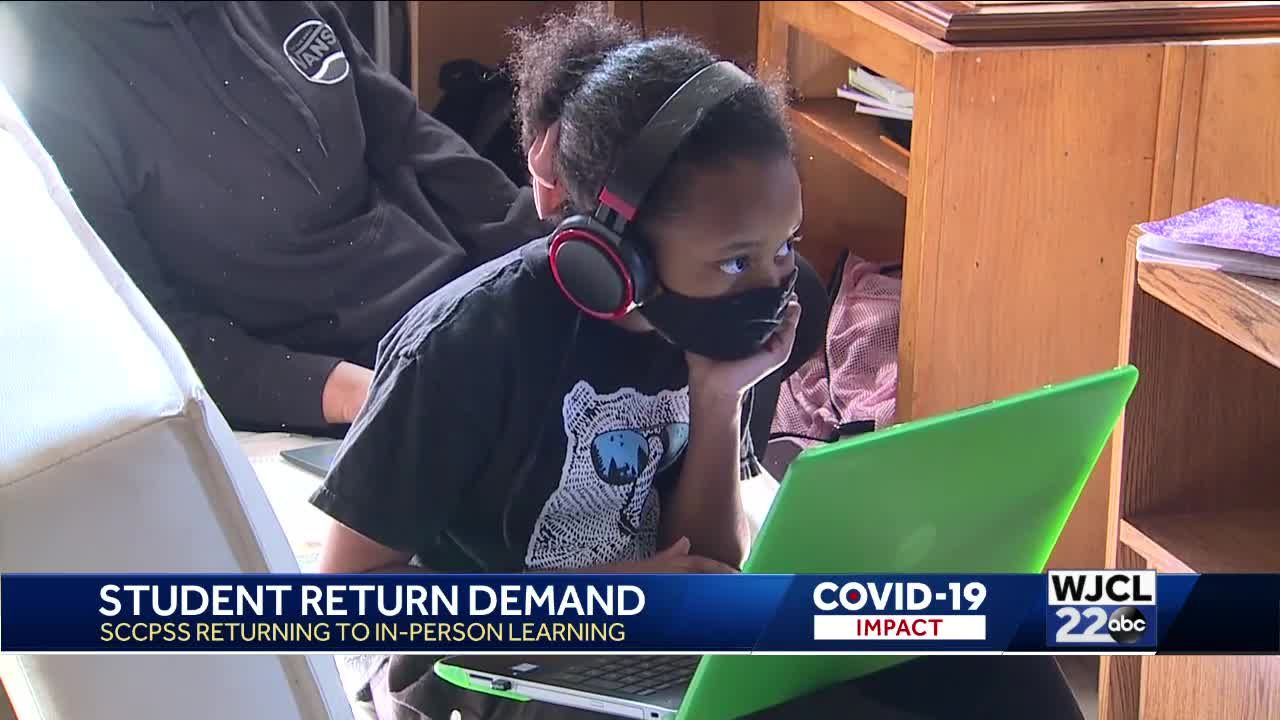 SCCPSS students returning