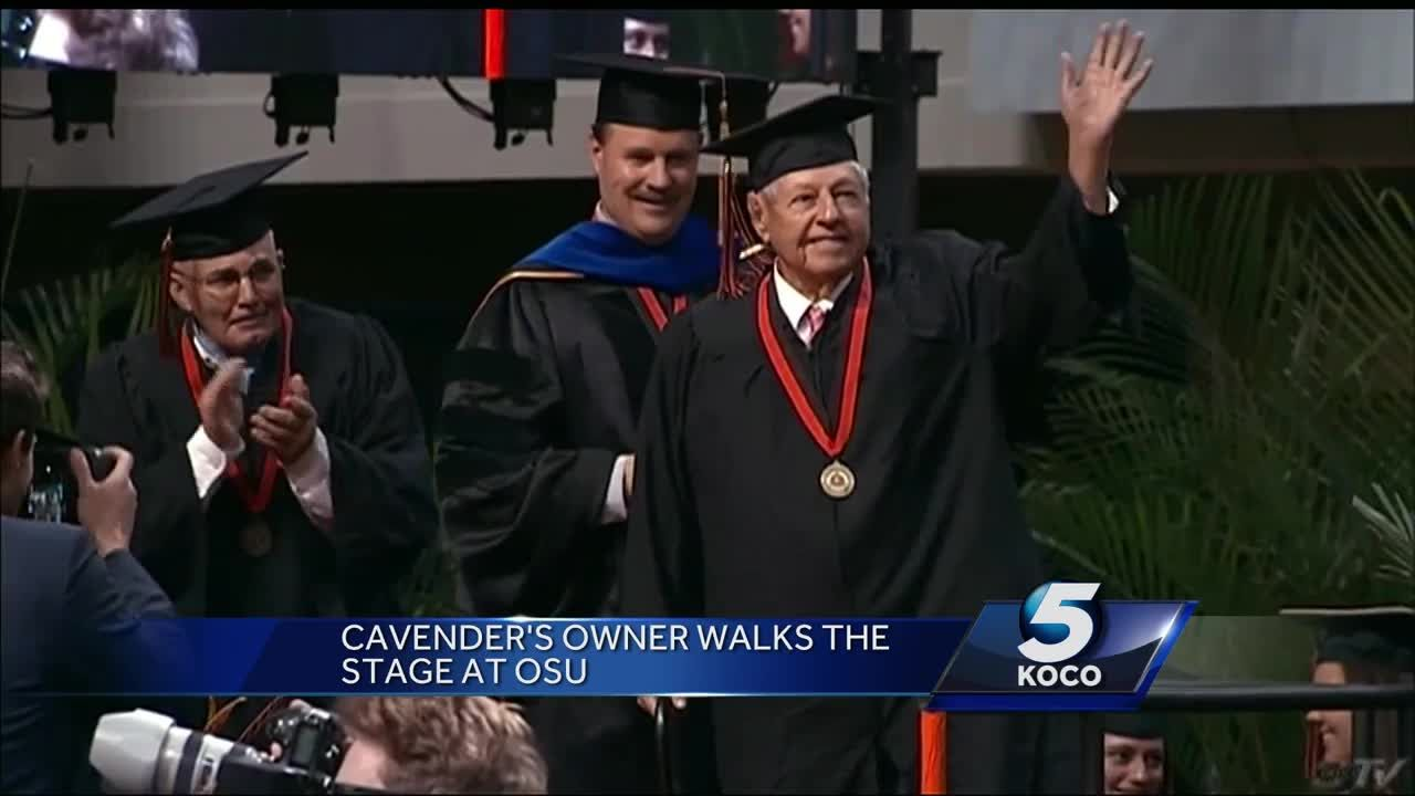 Founder of Cavender's walks stage at Oklahoma State 64 years after  graduating