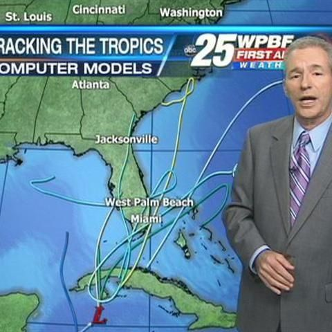 Area Of Low Pressure In Caribbean Will Bring Rain To South Fla