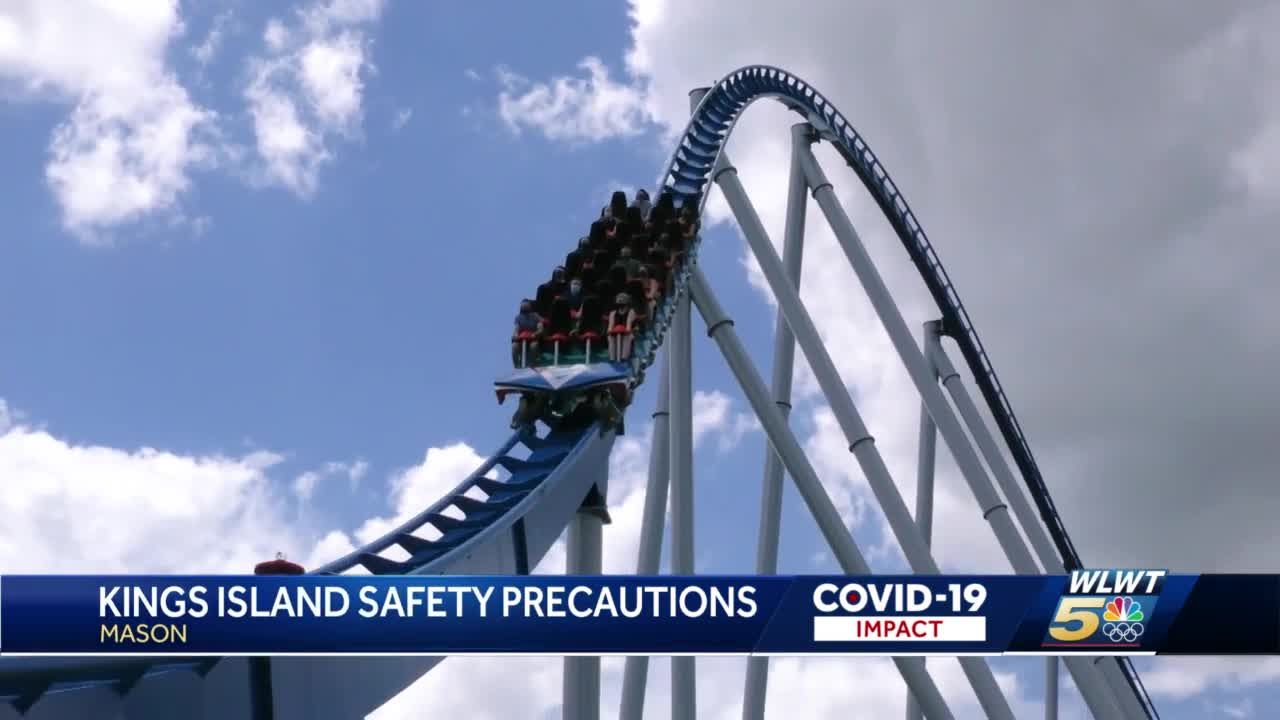 Kings Island opens this weekend with new health protocols