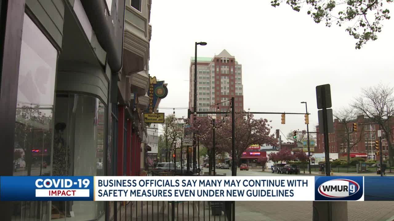 Many businesses might continue COVID-19 safety measures