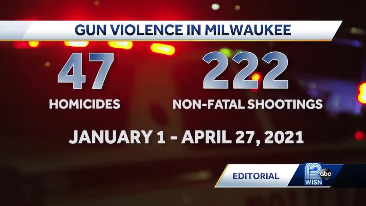 WISN 12 Editorial: Gun violence seems 'out of control'