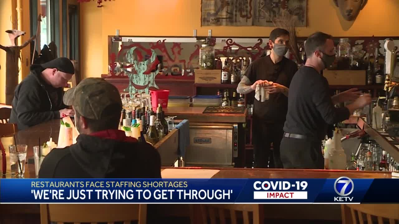 Restaurants face staffing shortages