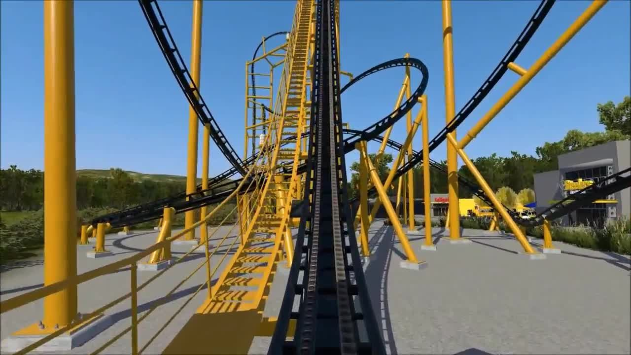d7e67d20 STEEL CURTAIN: Watch a video simulation of the new Pittsburgh Steelers  roller coaster coming to Kennywood Park