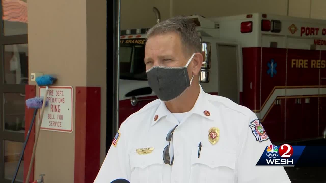 Port Orange fire chief placed on leave after confrontation, officials say