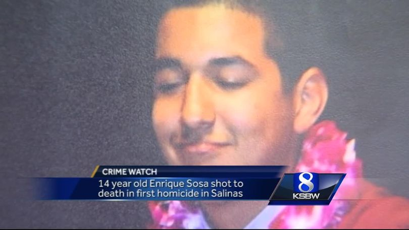 Salinas homicide victim, 14, identified by police