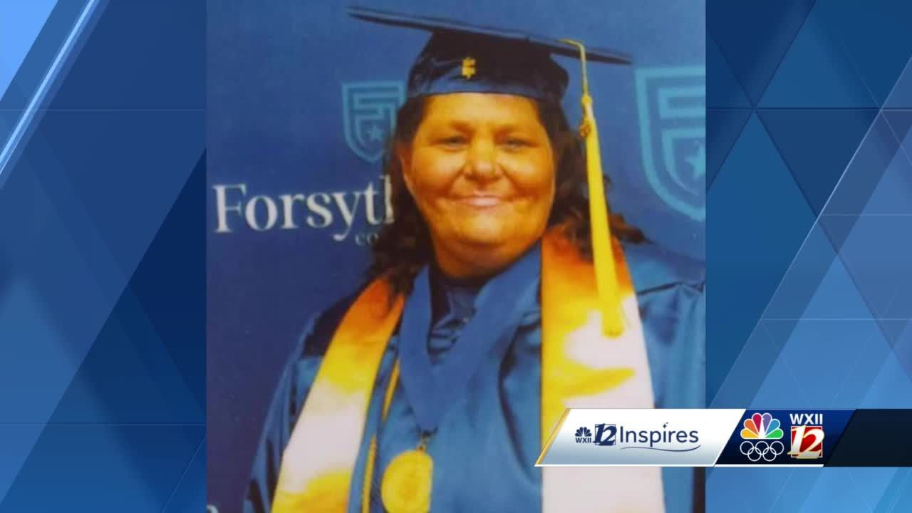 12 Inspires: Beating all odds, almost 50-year-old woman is a Forsyth Tech grad
