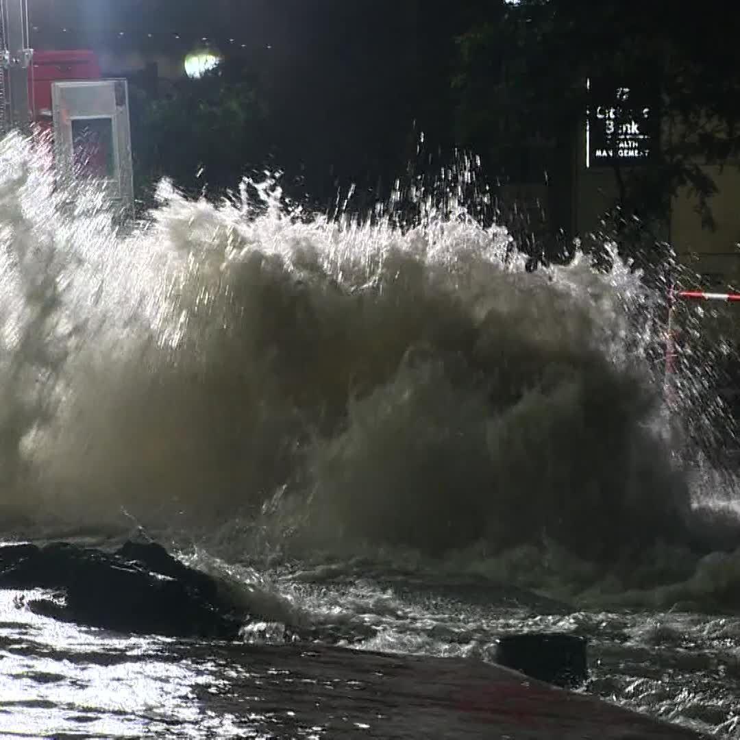City streets flooded by water main break in Boston