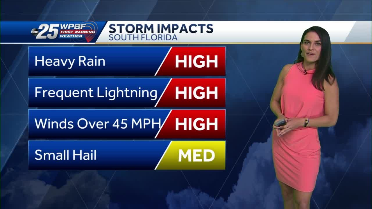 First Warning Weather: South Florida Wednesday storm chances