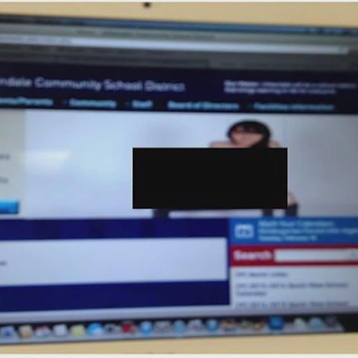 School's website hacked, nude photos added