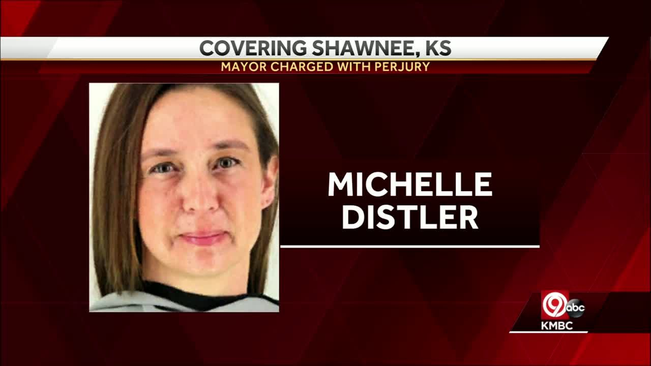 Shawnee Mayor Michelle Distler charged with felony perjury