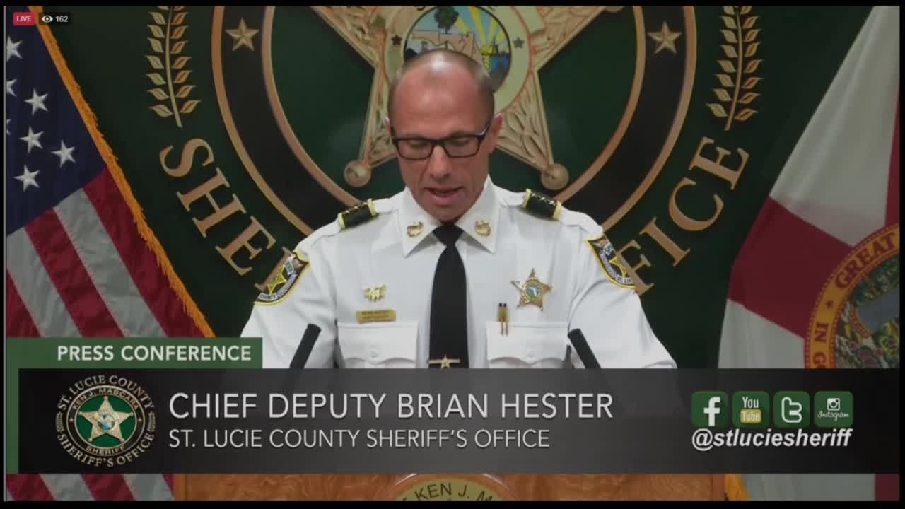 St. Lucie County Sheriff's Office announces arrest of detention deputy