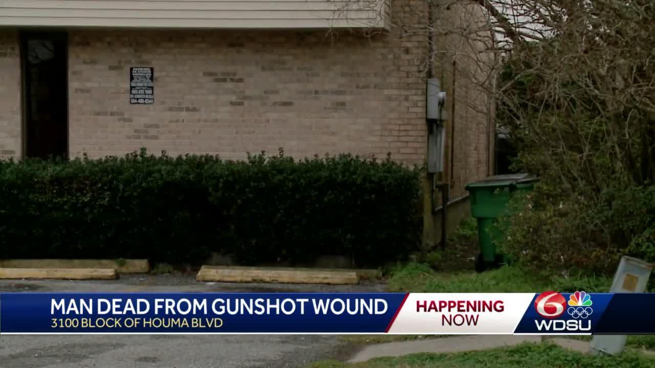 Man dies after being found in vehicle with gunshot wound in Metairie, JPSO investigating
