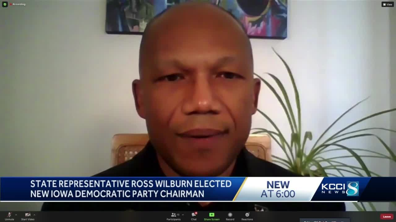 Ross Wilburn elected as Iowa Democratic Party's first Black chairman